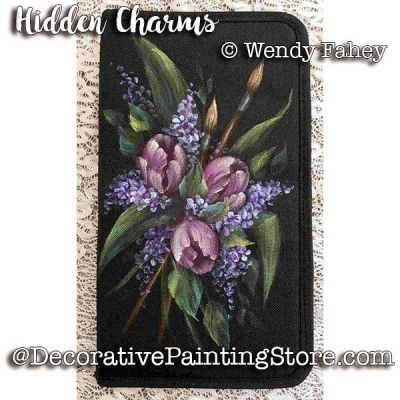Hidden Charms Brush Holder ePacket - Wendy Fahey - PDF DOWNLOAD