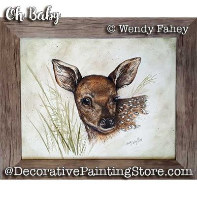 Oh Baby Pen and Ink ePacket - Wendy Fahey - PDF DOWNLOAD