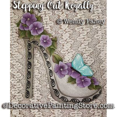 Stepping Out Royally ePacket - Wendy Fahey - PDF DOWNLOAD