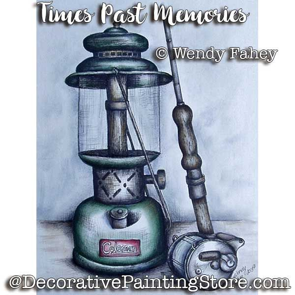 Time Past Memories Pen and Ink ePacket - Wendy Fahey - PDF DOWNLOAD
