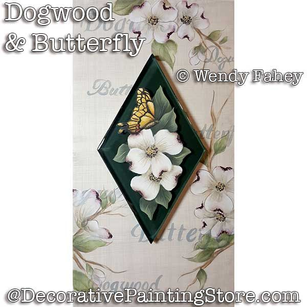 Dogwood and Butterfly ePacket - Wendy Fahey - PDF DOWNLOAD