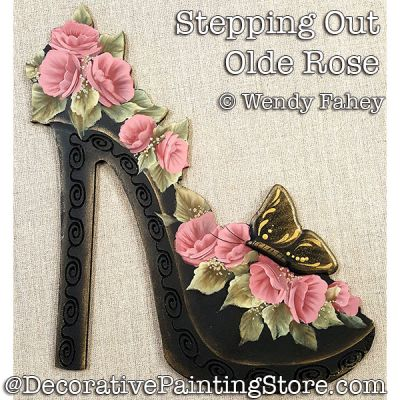 Stepping Out Olde Rose DOWNLOAD - Wendy Fahey