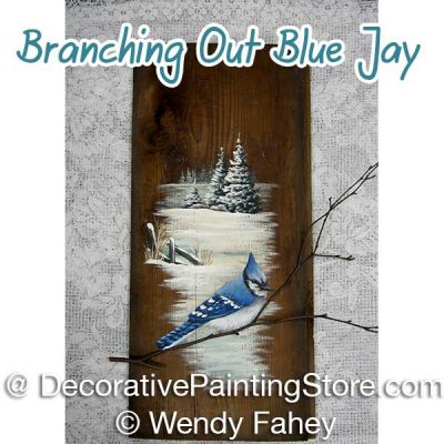 Branching Out Blue Jay ePacket - Wendy Fahey - PDF DOWNLOAD