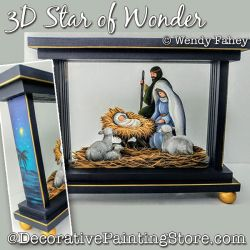 3D Star of Wonder (Nativity) DOWNLOAD - Wendy Fahey