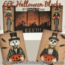 EEK Halloween Blocks DOWNLOAD - Wendy Fahey