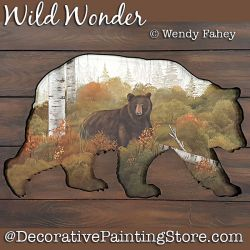 Wild Wonder (Bear) DOWNLOAD - Wendy Fahey