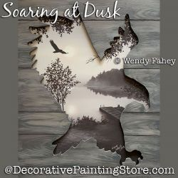 Soaring at Dusk (Eagle) DOWNLOAD - Wendy Fahey