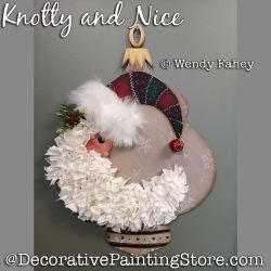 Knotty and Nice Santa DOWNLOAD - Wendy Fahey