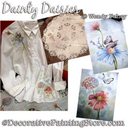 Dainty Daisies DOWNLOAD - Wendy Fahey