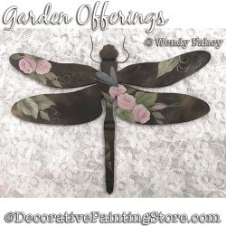 Garden Offerings (Rose / Dragonfly) DOWNLOAD - Wendy Fahey