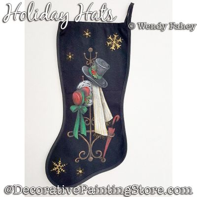 Holiday Hats DOWNLOAD - Wendy Fahey