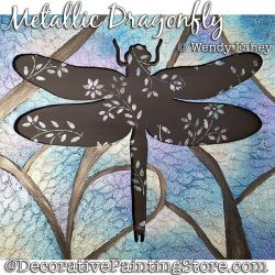 Metallic Dragonfly DOWNLOAD - Wendy Fahey