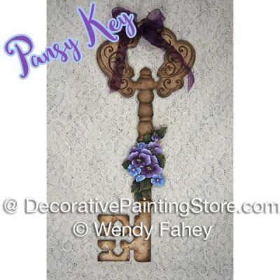 Four Season Key with Pansy ePacket - Wendy Fahey - PDF DOWNLOAD