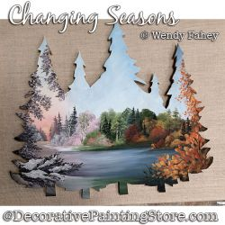Changing Seasons Painting Pattern PDF DOWNLOAD - Wendy Fahey