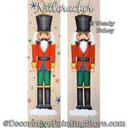Nutcracker Painting Pattern PDF DOWNLOAD - Wendy Fahey