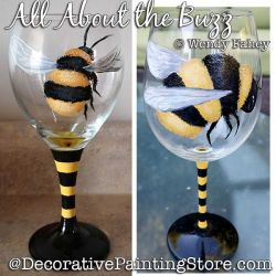 All About the Buzz Painting Pattern PDF DOWNLOAD - Wendy Fahey