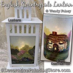 English Countryside Painting Pattern PDF DOWNLOAD - Wendy Fahey