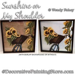 Sunshine on My Shoulders Painting Pattern PDF DOWNLOAD - Wendy Fahey