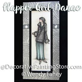 Danae - Flapper Girl ePacket - Wendy Fahey - PDF DOWNLOAD