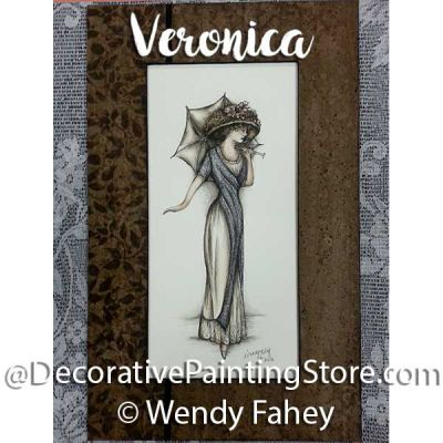 Veronica - Victorian Lady ePacket - Wendy Fahey - PDF DOWNLOAD