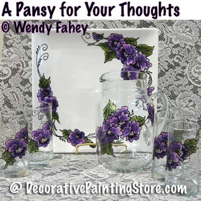 A Pansy for Your Thoughts ePacket - Wendy Fahey - PDF DOWNLOAD