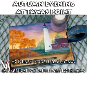 Autumn Evening at Tawas Point - Debby Forshey-Choma - PDF DOWNLOAD
