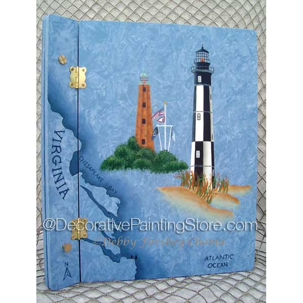 Cape Henry Lighthouses ePattern - Debby Forshey-Choma - PDF DOWNLOAD