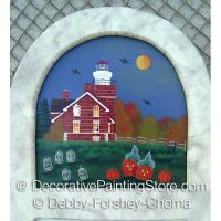 Haunting at Big Bay Lighthouse ePattern - Debby Forshey-Choma - PDF DOWNLOAD