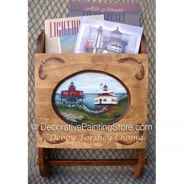 East Coast Lighthouses ePattern - Debby Forshey-Choma - PDF DOWNLOAD