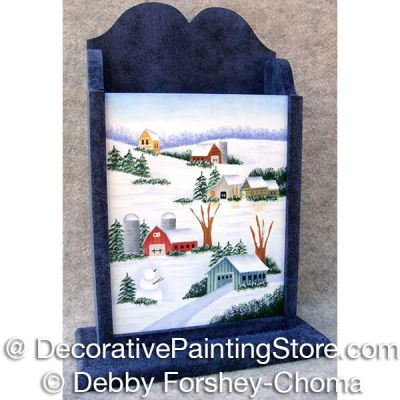 Snowy Countryside ePattern - Debby Forshey-Choma - PDF DOWNLOAD