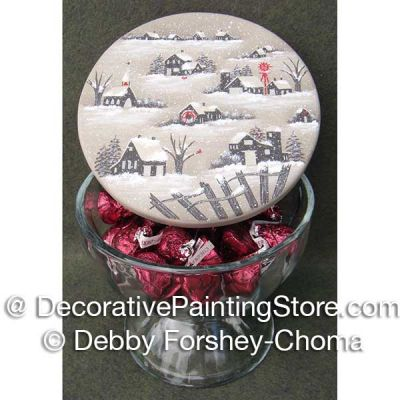 Winter Candy Dish ePattern - Debby Forshey-Choma - PDF DOWNLOAD