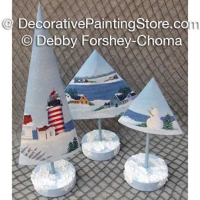 West Quoddy Winter Trees ePattern - Debby Forshey-Choma - PDF DOWNLOAD