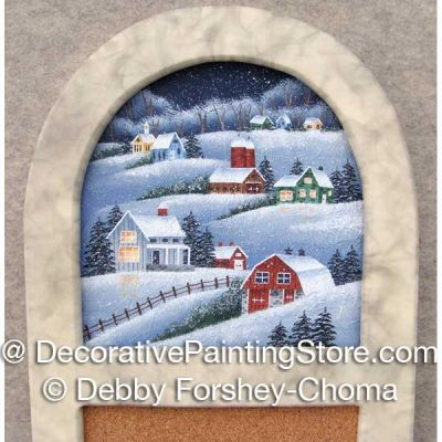 A Calm Winter Night ePattern - Debby Forshey-Choma - PDF DOWNLOAD