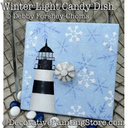 Winter Light - Lighthouse DOWNLOAD - Debby Forshey-Choma