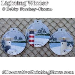 Lighting Winter Ornaments DOWNLOAD - Debby Forshey-Choma