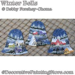 Winter Bells Ornaments DOWNLOAD - Debby Forshey-Choma