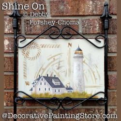 Shine On Lighthouse Yard Sign DOWNLOAD - Debby Forshey-Choma