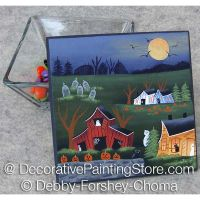 A Haunting Halloween ePattern - Debby Forshey-Choma - PDF DOWNLOAD