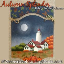 Autumn Splendor Lighthouse DOWNLOAD - Debby Forshey-Choma