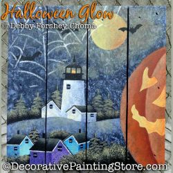 Halloween Glow Lighthouse DOWNLOAD - Debby Forshey-Choma