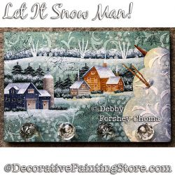 Let It Snow Man DOWNLOAD - Debby Forshey-Choma