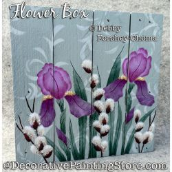 Flower Box ePattern - Debby Forshey-Choma - PDF DOWNLOAD