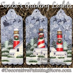 Santas Guidling Lights DOWNLOAD - Debby Forshey-Choma