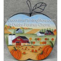 Harvest Time Apple Basket ePattern - Debby Forshey-Choma - PDF DOWNLOAD