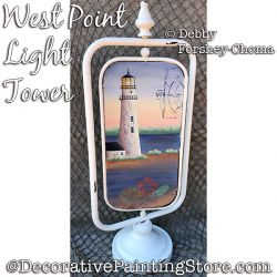 West Point Light Tower Painting Pattern DOWNLOAD - Debby Forshey-Choma