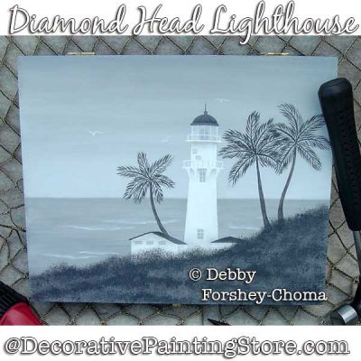 Diamond Head Lighthouse ePattern - Debby Forshey-Choma - PDF DOWNLOAD