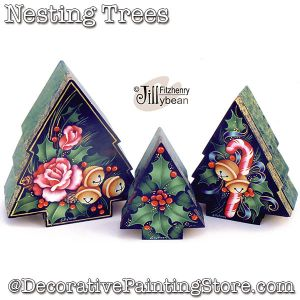 Nesting Trees Boxes DOWNLOAD - Jillybean Fitzhenry