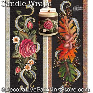 Candle Wraps DOWNLOAD - Jillybean Fitzhenry