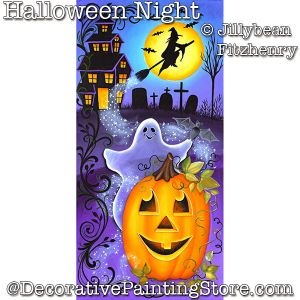Halloween Night DOWNLOAD - Jillybean Fitzhenry