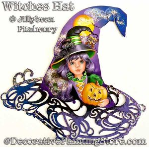 Witches Hat DOWNLOAD - Jillybean Fitzhenry